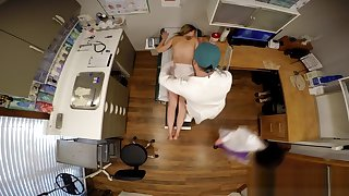 GirlsGoneGyno Doctor & Nurse Gust Scrutinize Alexandria Riley Pt 2 of 7